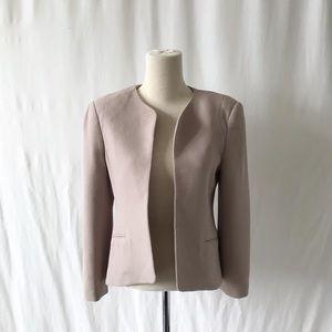 Wilfred Aritzia dusty rose open front blazer 4